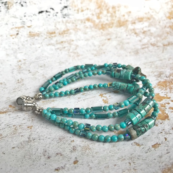 Handmade Jewelry - Hand Crafted Turquoise Bracelet